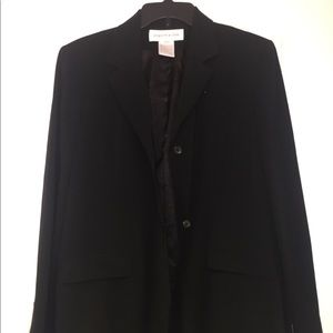 Jones New York Blazer New Size 12 Black